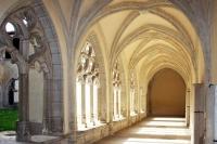 Le cloître de l'abbaye qui accueille des concerts du festival - © Wikipedia