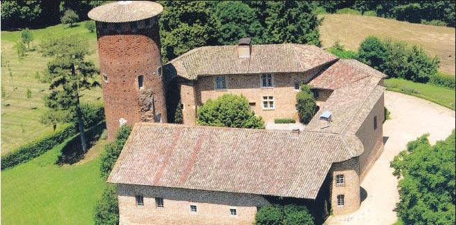 Château de Chavagneux - © Wikipedia