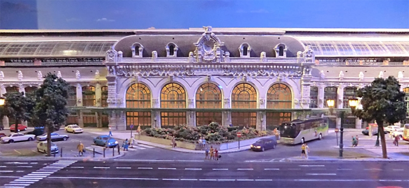 Miniature gare Lyon Brotteaux - © Wikipedia