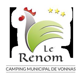 Logo camping le Renom